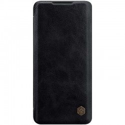 Mi Note 10 Lite луксозен флип калъф QIN Nillkin черен