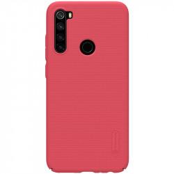 Redmi Note 8 калъф твърд гръб Nillkin червен