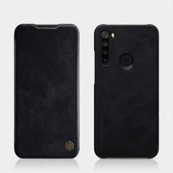 Redmi Note 8T луксозен кожен калъф QIN Nillkin черен